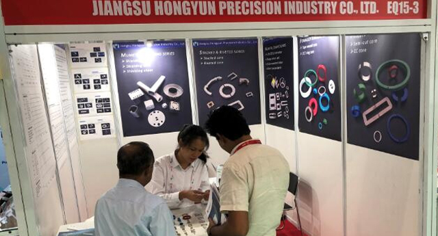 Die electronica 2019 in Greater Noida, Indien